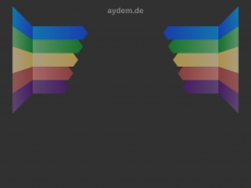 Screenshot der Domain aydem.de