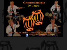 Screenshot der Domain ayebeegroove.de