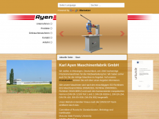 Screenshot der Domain ayen.de