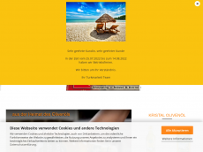 Screenshot der Domain ayfood.de