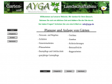 Screenshot von ayga.de