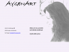Screenshot der Domain aygenart.de