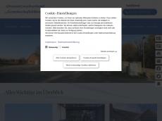 Screenshot der Domain azv-kalkreuth.de