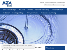Screenshot der Domain azv-preetz.de
