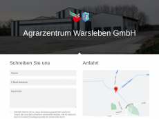 Screenshot der Domain azw-gmbh.de