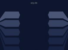 Screenshot der Domain azy.de
