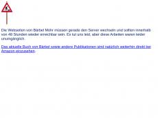 Screenshot der Domain baerbelmohrblog.de