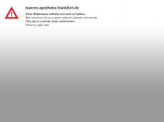 Screenshot der Domain baeren-apotheke-frankfurt.de