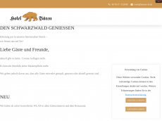Screenshot der Domain baeren-hotels.de
