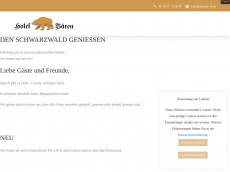 Screenshot der Domain baeren-oh.de