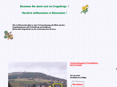 Screenshot der Domain baerenberg.de