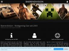 Screenshot von baerendivision.de