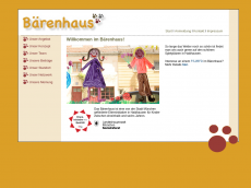 Screenshot der Domain baerenhaus-kindergarten.de