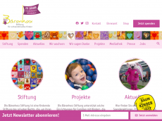 Screenshot der Domain baerenherz.de
