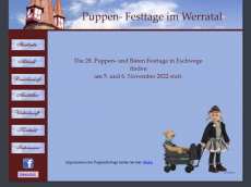 Screenshot der Domain baerenhoehlenfest.de