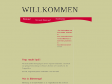 Screenshot der Domain baerenyoga.de