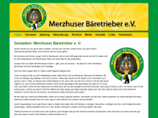 Screenshot der Domain baeretrieber.de