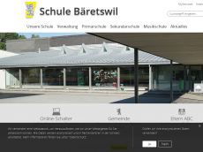 Screenshot der Domain baeretswil.org