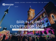 Screenshot der Domain baerlinteam.de