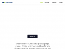 Screenshot der Domain baermedia.com