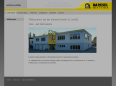 Screenshot der Domain bareselstein.de