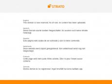 Screenshot der Domain barete.de