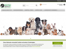 Screenshot der Domain barf-heimtier-express.de