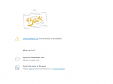 Screenshot der Domain barfach.de