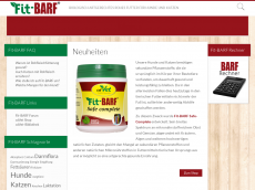 Screenshot der Domain barfermesse.de