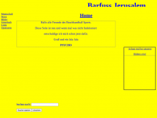 Screenshot der Domain barfuss-jeru.de