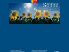 Screenshot der Domain barfuss-solar.de