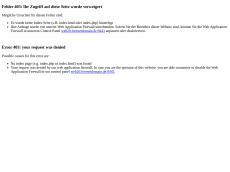 Screenshot der Domain barfuss-trend.de
