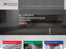 Screenshot der Domain barg-betonschutz.de