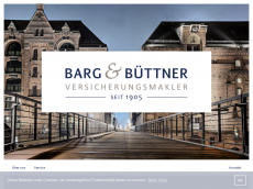 Screenshot der Domain barg-buettner.de
