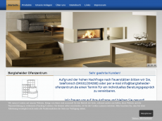 Screenshot der Domain bargteheider-ofenzentrum.de