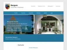 Screenshot von bargum.de