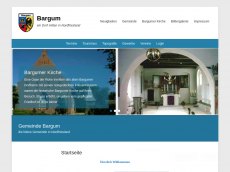 Screenshot der Domain bargum.eu