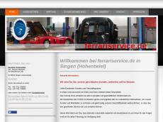 Screenshot der Domain barhoferautomobile.de