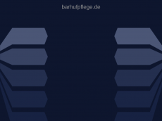 Screenshot der Domain barhufpflege.de