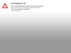 Screenshot der Domain barhufpflegerin.de