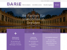 Screenshot der Domain barieimmobilien.de