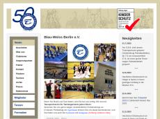 Screenshot der Domain blauweissberlin.de