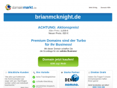Screenshot von brianmcknight.de