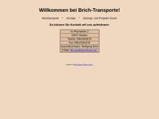 Screenshot von brich-transporte.de
