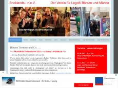 Screenshot von bricklands.net