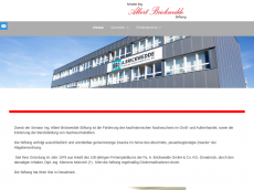 Screenshot der Domain brickwedde-stiftung.de