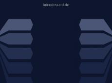 Screenshot der Domain bricodesued.de