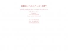 Screenshot von bridal-factory.de