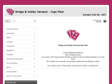 Screenshot der Domain bridge-discount.de