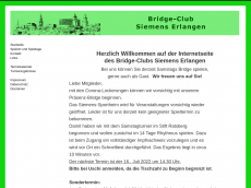 Screenshot der Domain bridge-erlangen.de